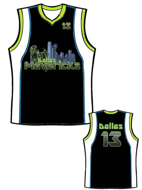 Mav's Jersey? Why Not? :)
